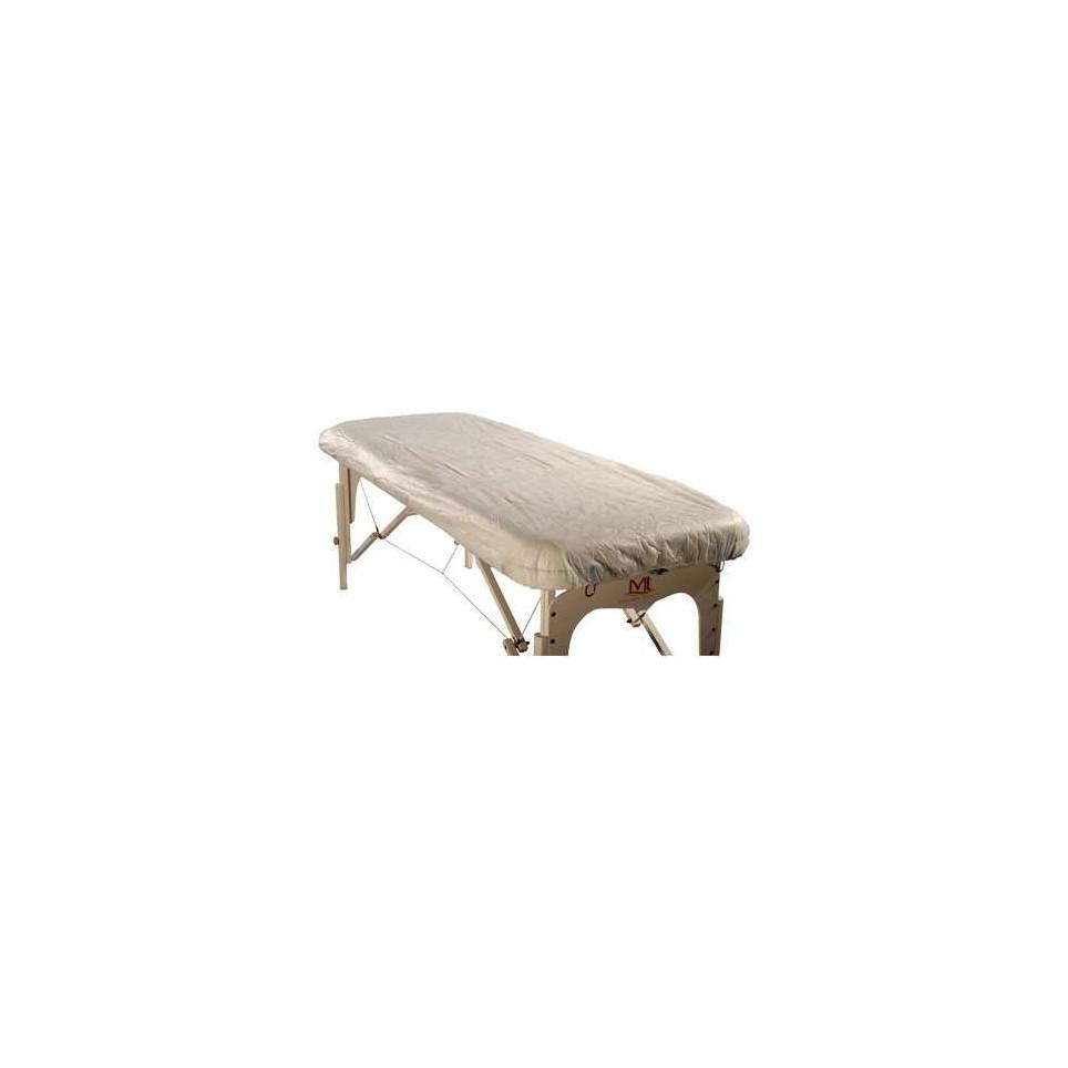 protection de table de massage jetable x10