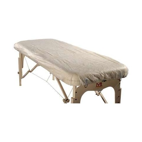 protection de table de massage jetable x10