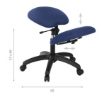 Siège de bureau assis-genoux S2702
